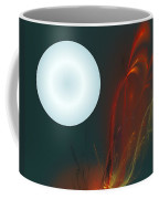 Moon Over Fire Weed Coffee Mug