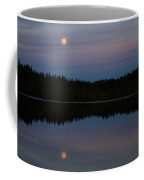 Moon Over Kirkas-soljanen  Coffee Mug