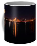 Moon Over Lake Coffee Mug