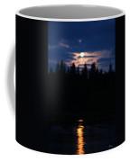 Moon Over Piprell Lake Coffee Mug