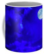 Moon Over The Mountains Coffee Mug