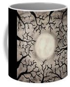 Moon Over Trees Coffee Mug