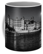 Moon Over Udaipur Bw Coffee Mug