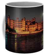 Moon Over Udaipur Coffee Mug
