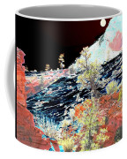 Moon Over Utah Coffee Mug