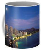 Moon Over Waikiki Coffee Mug