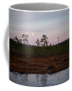 Moon Over Wetlands Coffee Mug