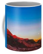 Moon Rise Over Palo Duro  Coffee Mug