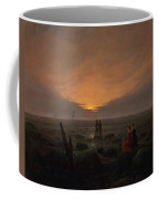 Moon Rising Over The Sea Coffee Mug