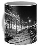 Moon Romance Bw Coffee Mug