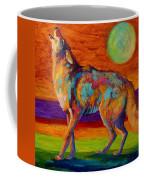 Moon Talk - Coyote Coffee Mug