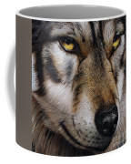Moon Wolf Coffee Mug