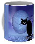Mooncat's Loneliness Coffee Mug