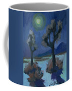 Moonlight And Joshua Tree Coffee Mug