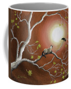 Moonlight Conversation In Sepia Coffee Mug