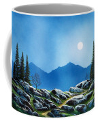 Moonlight Hike Coffee Mug