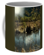 Moonlight On Canadian Lake Coffee Mug