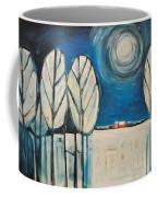 Moonlight On The First Snow Coffee Mug
