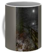 Moonlight On The River Bank Coffee Mug