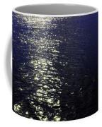 Moonlight Sparkles On The Sea Coffee Mug