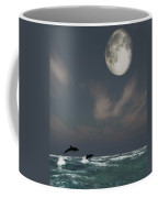 Moonlight Swim Coffee Mug