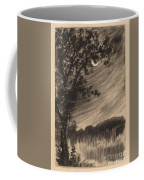 Moonlit Landscape With Tree At The Left Coffee Mug