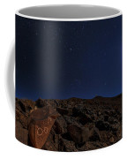 Moonlit Night, Atacama Desert, Chile Coffee Mug
