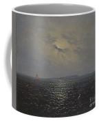 Moonlit Night By Ruegen Coffee Mug