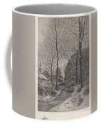 Moonlit Stroll In Winter Coffee Mug