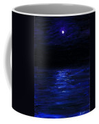 Moonlit Water Mini Oil Painting On Masonite Coffee Mug