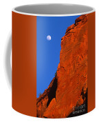 Moonrise In Grand Staircase Escalante Coffee Mug