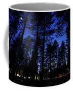 Moonrise In The Woods Coffee Mug by Margaret Pitcher
