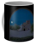Moonrise On Tumacacori Mission Coffee Mug