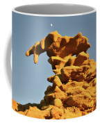 Moonrise Over Fantasy Canyon Hoodoo Coffee Mug