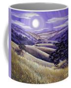 Moonrise Over Monte Bello Coffee Mug