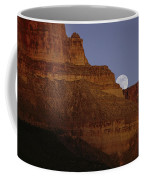 Moonrise Over The Grand Canyon Coffee Mug