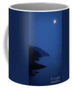 Moonrise Over Vernazza Coffee Mug