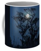 Moonrise Over Wetlands Coffee Mug