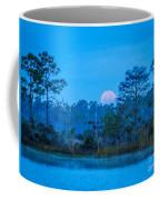 Moonset At The Hungryland Coffee Mug
