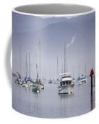 Moored Boats In Morro Bay Coffee Mug