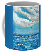 Moored In The Bay Coffee Mug