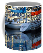 Moored Sailboats Coffee Mug