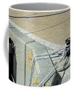 Mooring Ropes - Ryde Harbour Coffee Mug
