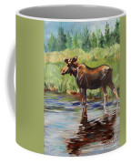 Moose At Henry's Fork Coffee Mug