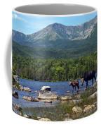 Moose Baxter State Park Maine 2 Coffee Mug