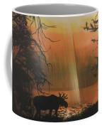 Moose In The Morning Coffee Mug