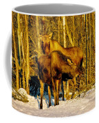 Moose In The Morning Coffee Mug