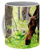 Moose Munching Coffee Mug