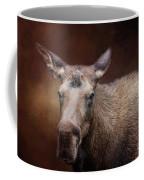 Moose Portrait Coffee Mug