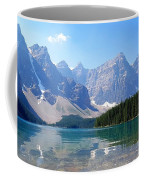 Moraine Lake Down Low Coffee Mug